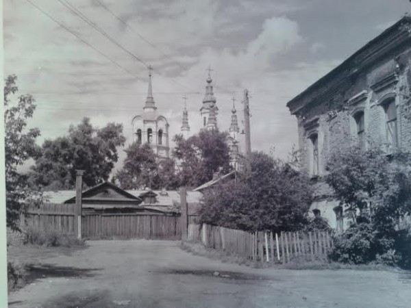 Воскресенская церковь. Томск. 1789-1807. Фото 1973 года