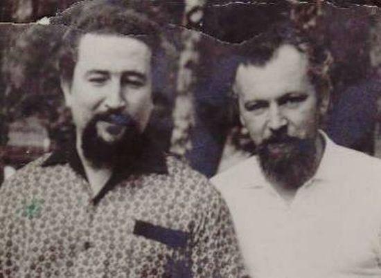 Отец Николай Эшлиман и Феликс Карелин в 1966 г