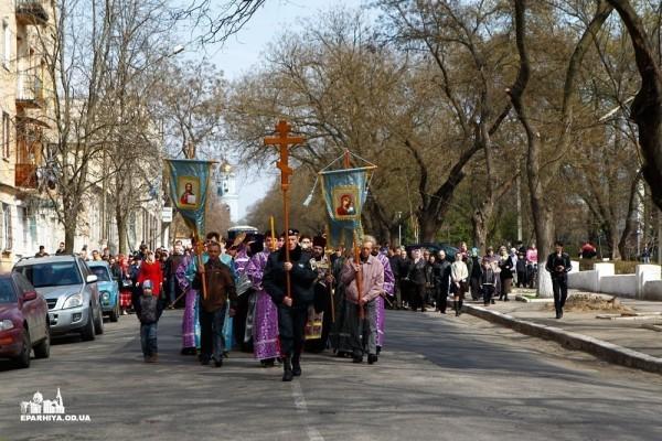 Одесская епархия проведет крестный ход за мир в Украине