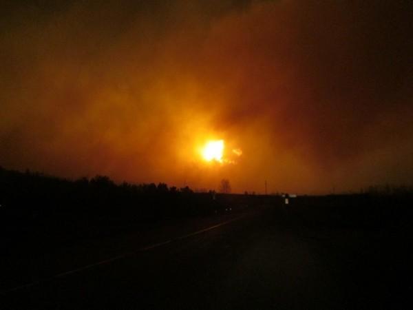 В Забайкалье командир части погиб, спасая людей при пожаре на складе
