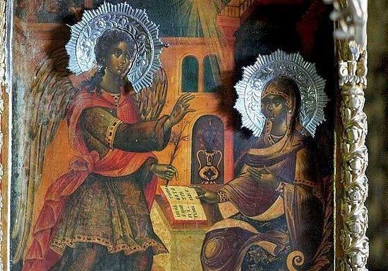 На Благовещение в монастырях Афона прошли многочасовые ночные богослужения
