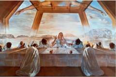 Изображения Тайной Вечери: От фресок в катакомбах до картин Сальвадора Дали