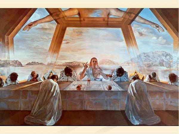 Тайная Вечеря: От фресок в катакомбах до картин Сальвадора Дали