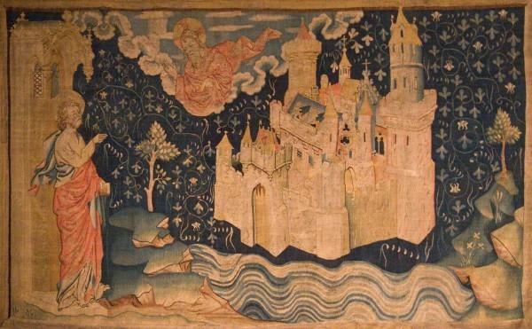Видение Небесного Иерусалима Иоанном Богословом (Анжерский апокалипсис)