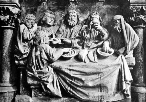 изображения Тайной Вечери на соборе