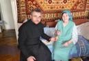 В Киеве верующие поздравили с Пасхой ветеранов Великой Отечественной войны