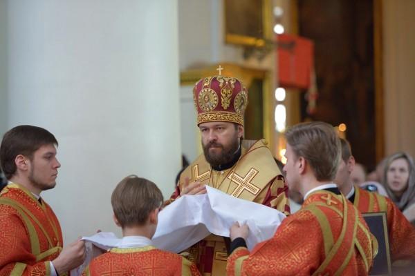 Митрополит Иларион: Весь опыт Церкви и наш собственный опыт жизни в Церкви удостоверяет нас в том, что Христос воскрес