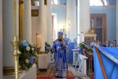 Митрополит Иларион: Матерь Божия всегда приходит нам на помощь, всегда слышит наши молитвы