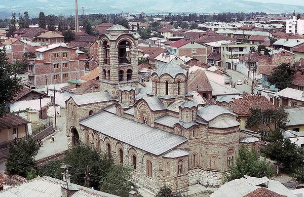 Церковь Богородица Левишка
