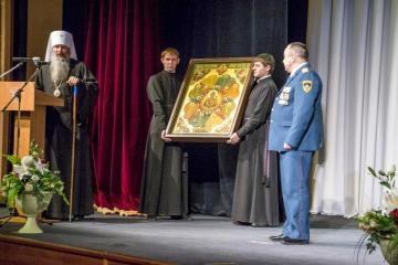 Вятская епархия вручила МЧС икону «Неопалимая Купина»