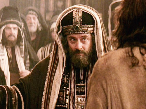Посрамление Христом злых виноградарей из синедриона