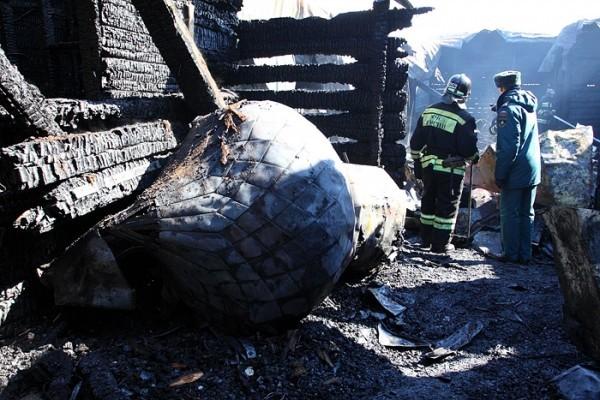 В Хабаровске восстановят сгоревший храм