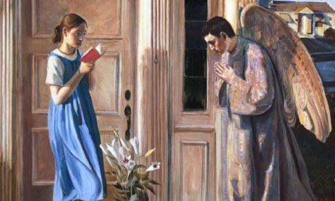 Благовещение на иконах и картинах - от века к веку