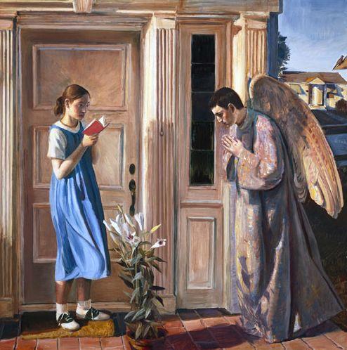 Благовещение на иконах и картинах — от века к веку