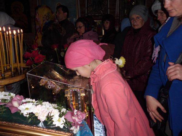 Ковчег со Страстными Святынями прибыл в Сумы