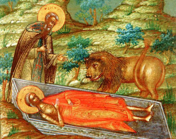 Церковь празднует память преподобной Марии Египетской