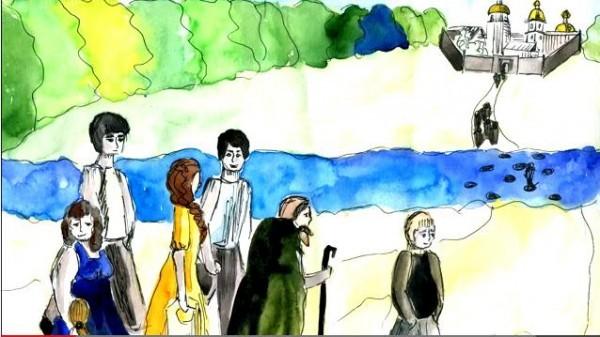 Юные художники из города Волжский снимают православные мультфильмы