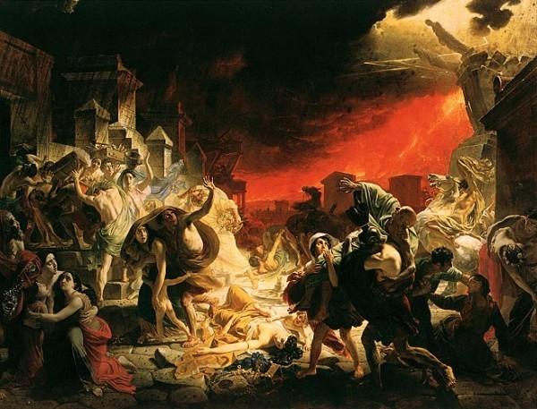 К. Брюллов. «Последний день Помпеи»