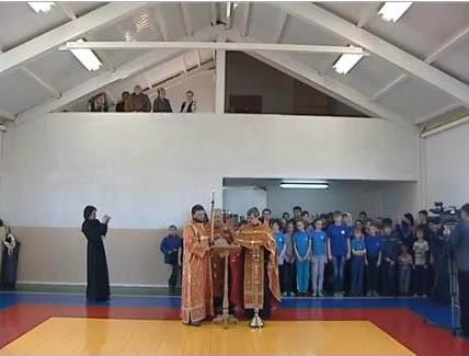 При храме Казанской епархии открыли спортзал