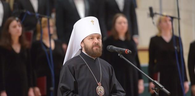 Митрополит Иларион: В пасхальные дни мы с особой силой ощущаем близость к нам Бога