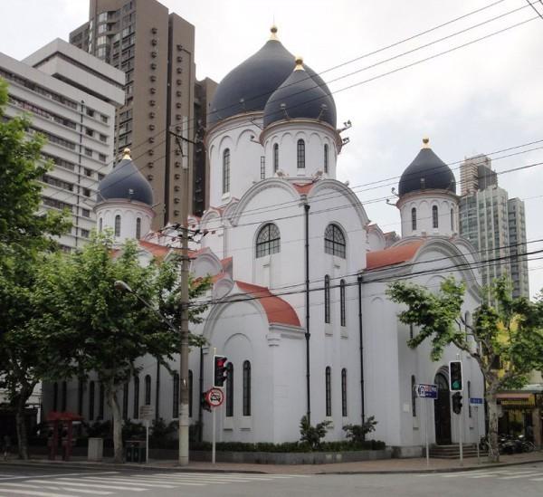 В здании кафедрального собора в Шанхае открылась фотовыставка «Русские в Шанхае. 1930-е годы»