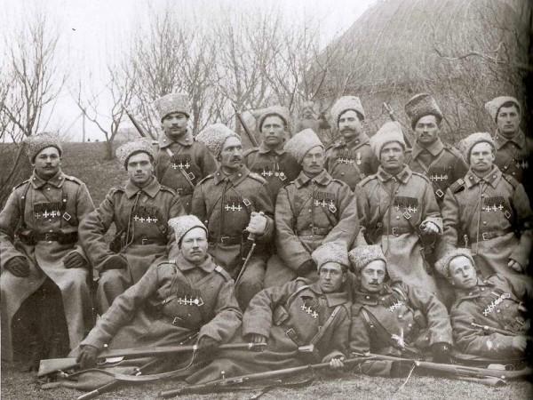 Георгиевские кавалеры 10-й кавалерийской дивизии.