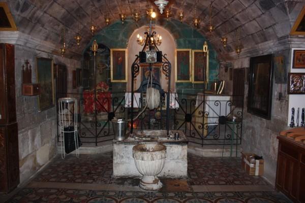 Колодец праотца Иакова — место беседы Господа Иисуса Христа с самарянкой