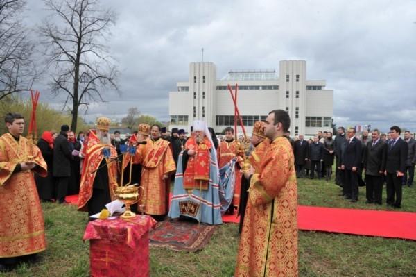 В Чебоксарах появится соборный храм в честь Сергия Радонежского