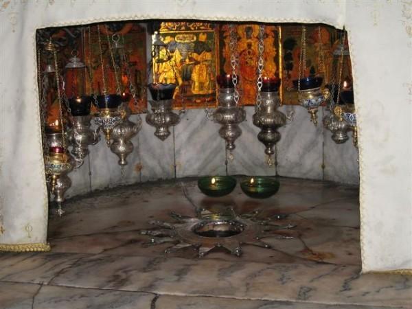 В Вифлееме горела пещера Рождества Христова