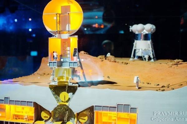 Макет поселений на Марсе