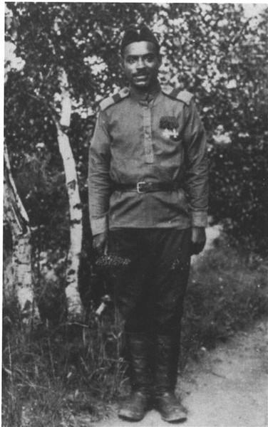 Полинезиец Марсель Пля, служивший мотористом-стрелком на аэроплане «Илья Муромец»