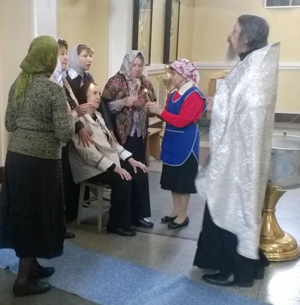 Таинство крещения приняли ветераны во Владивостоке