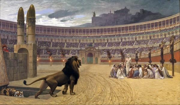 Ж. Л. Жером. «Последняя молитва христиан перед казнью»
