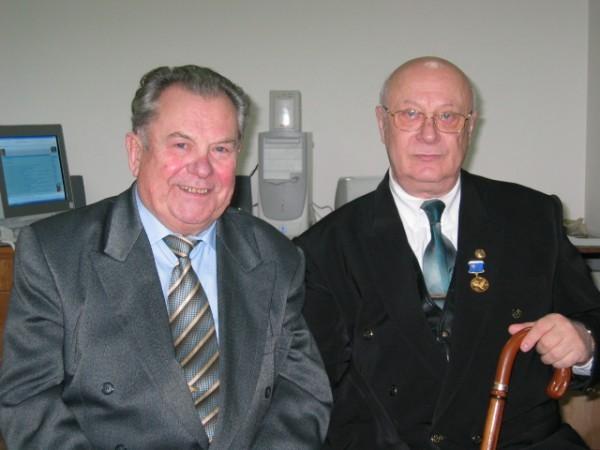 С космонавтом Павлом Поповичем