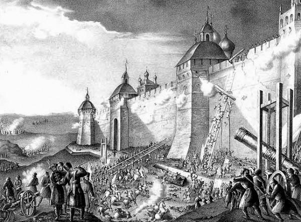 Осада Троице-Cергиевой обители 13 октября 1608 г.