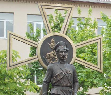 В Новочеркасске появился памятник героям Первой мировой войны