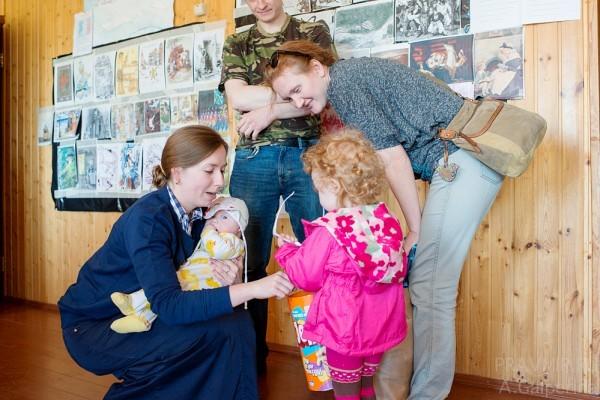 Семья добровольца Вячеслава