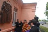 В Северной Осетии открыли памятную доску регенту хора Свято-Троицкой Сергиевой лавры архимандриту Матфею (Мормылю)