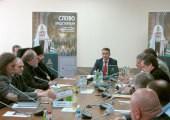 Состоялась презентация третьей книги из собрания трудов Патриарха Кирилла