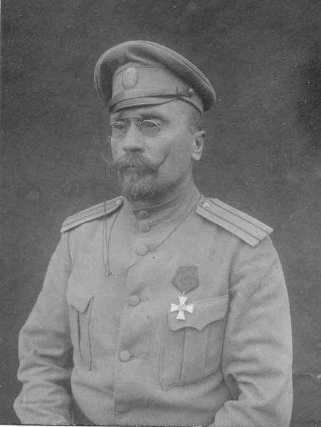 Кавалер ордена св. Георгия 4 ст. полковник З. О. Киселев