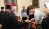 Патриарх Ириней принял делегацию из России