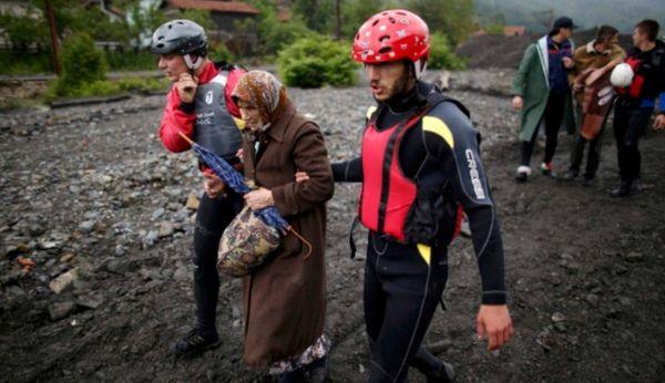 Сербия страдает от «большой воды». Патриарх Ириней просит о помощи