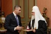 Патриарх Кирилл и Павел Астахов обсудили вопросы сотрудничества в области защиты прав детей