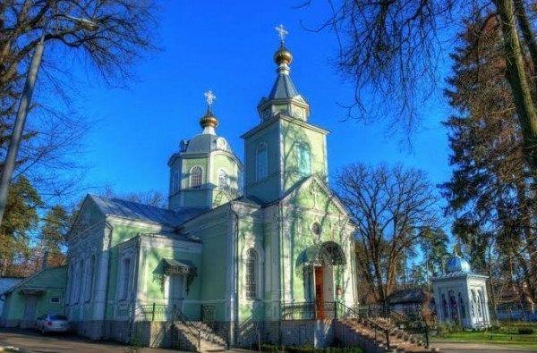 Серафимовский храм в Пуще-Водице