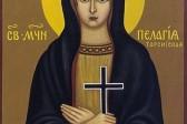 Церковь чтит память мученицы Пелагии, девы Тарсийской