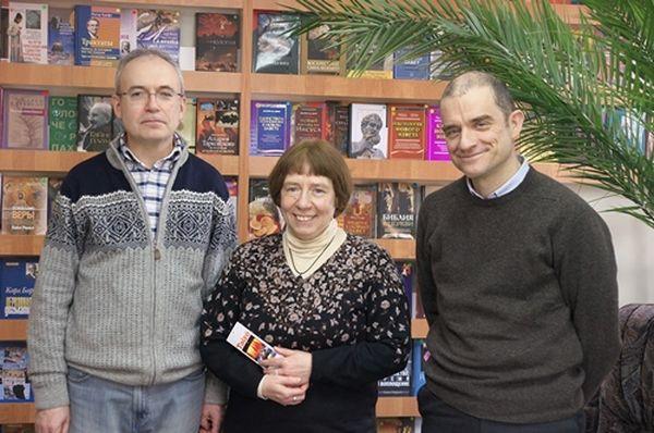 Брат Матфей в ББИ. Фото: standrews.ru