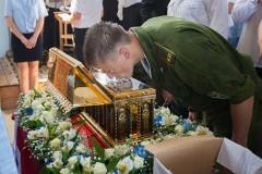 Пояс Богородицы принесен в Астраханскую область