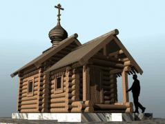 В Якутию доставили часовню – подарок новгородцев
