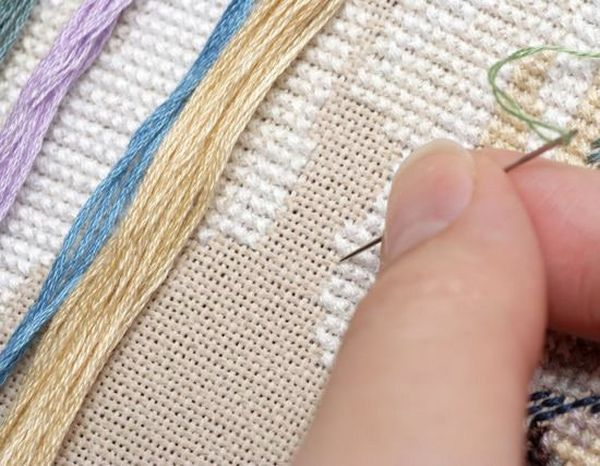 Молитва при вышивании икон бисером