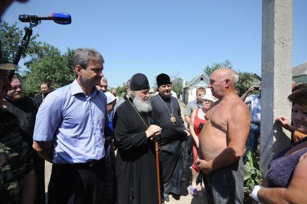 Патриарх Кирилл. Крымск. Лето 2013 года.